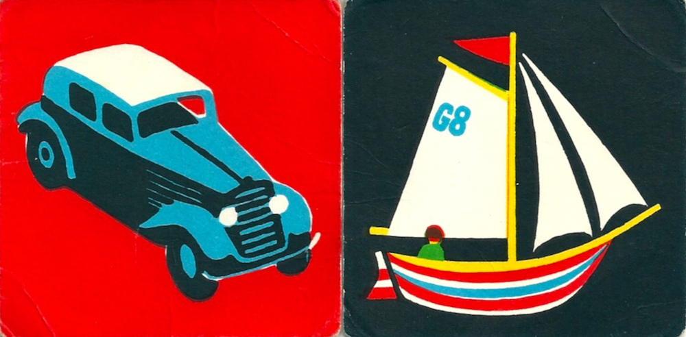 Vintage Snap! cards by Abbatt Toys